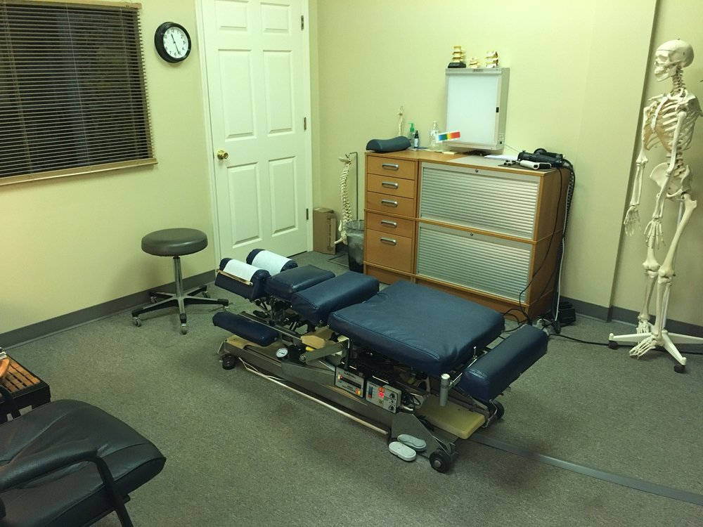 Leesburg Chiropractic and The Massage Group Patient Room